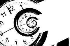 Шкала часа с влиянием Droste бесплатная иллюстрация