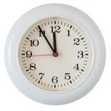 шкала часов близкая вверх по стене Стоковая Фотография RF