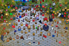 Шкафчики влюбленности, Грац, Австрия Стоковое Фото