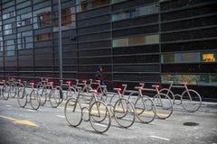 Шкафы велосипеда стоковое фото rf