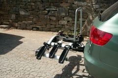 Шкафы велосипеда для автомобилей стоковые фото