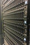 Шкафы сетевого оборудования Стоковая Фотография