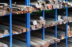 Шкафы стали и стальных прутов Стоковая Фотография