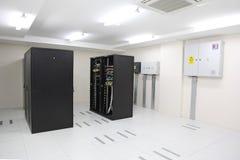 Шкафы центра данных Стоковое Изображение