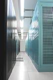 Шкафы центра данных Стоковые Изображения RF