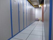 Шкафы центра данных Стоковые Фотографии RF