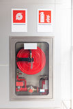 Шкафы для огнетушителей стоковое изображение