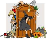 Шкаф ведьм Стоковая Фотография
