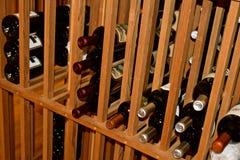 Шкаф вина стоковое изображение