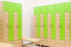 Шкаф в спортзале и стенде Стоковая Фотография