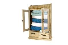 шкаф деревянный Стоковое Фото