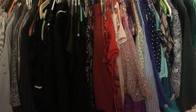 Шкаф закодированный цветом стоковая фотография