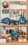 Шкаф инструмента Стоковое Фото