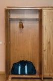шкаф мешка пустой деревянный Стоковые Фото
