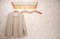 шкаф пальто Стоковое Изображение