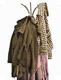 шкаф пальто Стоковые Фото