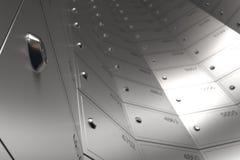Шкаф сейфа безопасности Стоковые Фотографии RF
