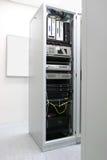 шкаф сети оборудования Стоковое Изображение RF