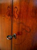 шкаф старого типа Стоковая Фотография