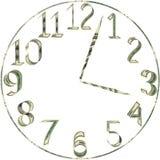 Шкала часов от долларов Стоковая Фотография