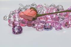 Шкентель света блеска драгоценных камней Amethys пурпура Стоковые Изображения