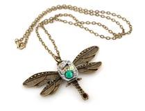 Шкентель dragonfly Steampunk Стоковые Фотографии RF