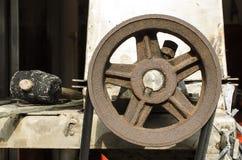 Шкивы металла ржавчины стоковое фото rf