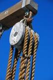 шкив деревянный Стоковые Фото