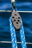 Шкив и веревочка Стоковые Изображения