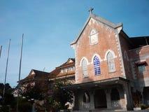 Школа гористых местностей Камерона христианская стоковая фотография