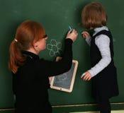 школа девушок Стоковое Изображение RF