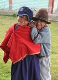 школа девушок ecuadorian Стоковое фото RF