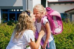 школа дня первая Стоковая Фотография RF