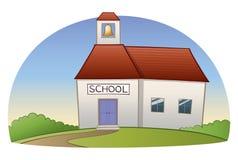 школа здания Стоковое Изображение