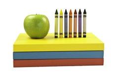 школа книг Стоковая Фотография RF