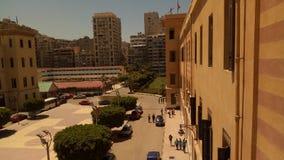 Школа коллежа победы самая большая школа в Александрии, Египте стоковое изображение