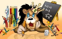 школа льва Стоковая Фотография RF