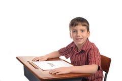 школа мальчика Стоковое фото RF