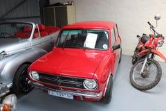 Школа мини автомобиля классическая старая Стоковое фото RF
