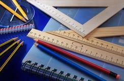 школа офиса вспомогательного оборудования Стоковые Фотографии RF