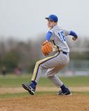 школа питчера бейсбола высокая Стоковое фото RF