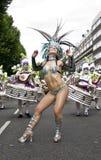 школа самбы london поплавка танцора стоковые изображения rf