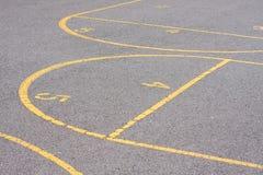 школа спортивной площадки Стоковая Фотография RF