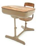 школа стола старая Стоковое Изображение RF