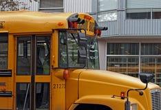 школа шины Стоковая Фотография