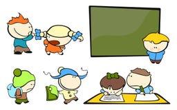 школа 4 смешная малышей Стоковые Фотографии RF