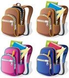 школа backpack бесплатная иллюстрация