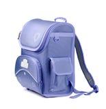 школа backpack Стоковое Фото
