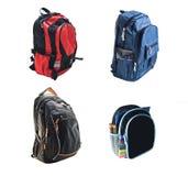 школа backpacks стоковые фотографии rf