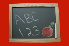 школа chalkboard Стоковая Фотография